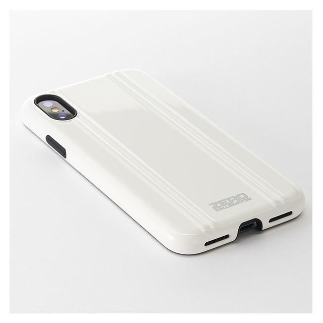 pretty nice 97cfe 07c8a 【アウトレット】【iPhoneX ケース】ZERO HALLIBURTON Hybrid Shockproof case for iPhone  X(SILVER) UNiCASE