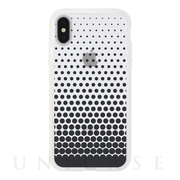 【アウトレット】【iPhoneXS/X ケース】MONOCHROME CASE for iPhoneXS/X (Gradation Dot Black)
