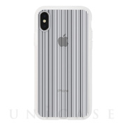 【アウトレット】【iPhoneXS/X ケース】MONOCHROME CASE for iPhoneXS/X (Thin Stripe Black)