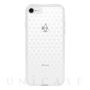 【アウトレット】【iPhone8/7 ケース】MONOCHROME CASE for iPhone8/7 (Triangle Pattern White)