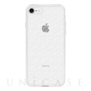 【アウトレット】【iPhone8/7 ケース】MONOCHROME CASE for iPhone8/7 (Hexagon Line White)