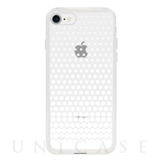 【アウトレット】【iPhone8/7 ケース】MONOCHROME CASE for iPhone8/7 (Gradation Dot White)