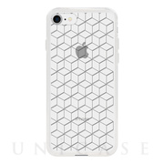 【アウトレット】【iPhone8/7 ケース】MONOCHROME CASE for iPhone8/7 (Hexagon Line Black)