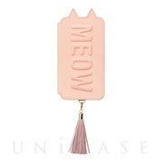 【アウトレット】【iPhoneXS/X ケース】Tassel Tail Cat for iPhoneXS/X(PINK)