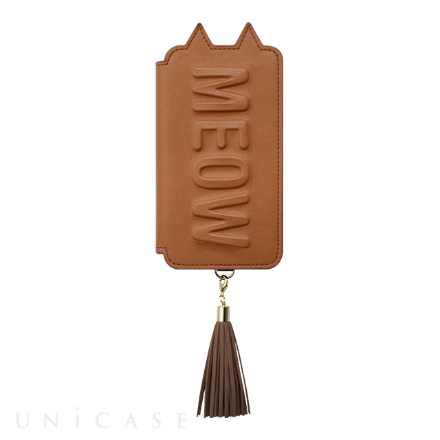 【アウトレット】【iPhoneXS/X ケース】Tassel Tail Cat for iPhoneXS/X(CAMEL)