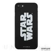 【アウトレット】【iPhone8/7 ケース】STAR WARS / MATTE BLACK HARD CASE for iPhone7(LOGO)