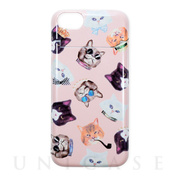 【iPhone8/7 ケース】BANNER BARRETT ミラーケース (gangster cat Pink)