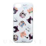 【iPhone8/7 ケース】BANNER BARRETT ミラーケース (gangster cat White)