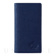 "【iPhoneXS/X ケース】""minimo""(BOOK TYPE) (NAVY)"