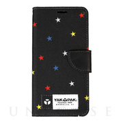 【iPhoneXS/X ケース】BOOK TYPE CASE (STAR BLK)