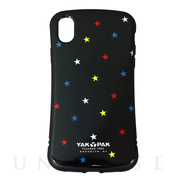 【iPhoneXR ケース】HYBRID BACK CASE (STAR BLK)