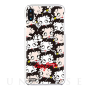 【iPhoneXS Max ケース】Betty Boop クリアケース (past and present)