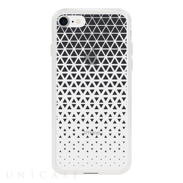 【アウトレット】【iPhone8/7 ケース】MONOCHROME CASE for iPhone8/7 (Triangle Pattern Black)