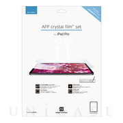 【iPad Pro(11inch) フィルム】AFP Crystal Fiim set