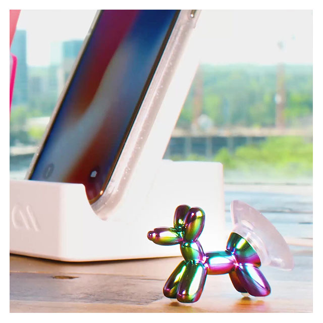 Stand Ups Balloon Dog SHEER CRYSTAL (Pink)サブ画像