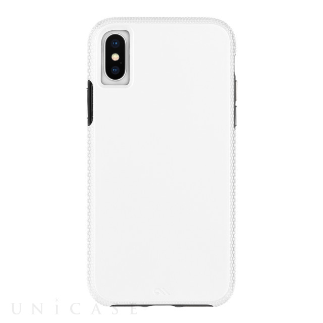 【iPhoneXS/X ケース】Tough Grip (White/Black)
