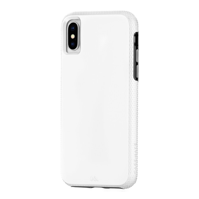 【iPhoneXS/X ケース】Tough Grip (White/Black)サブ画像