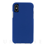 【iPhoneXS/X ケース】Tough Grip (Blue/Titanium)