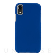 【iPhoneXR ケース】Tough Grip (Blue/Titanium)