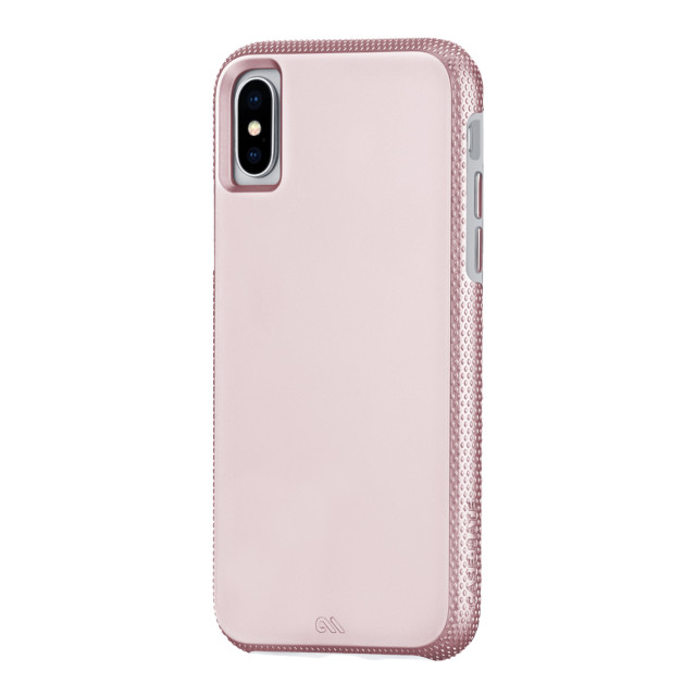 【iPhoneXS Max ケース】Tough Grip (Gold/Clear)サブ画像