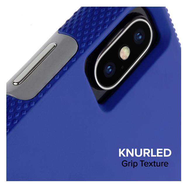 【iPhoneXS Max ケース】Tough Grip (Blue/Titanium)サブ画像