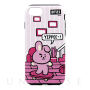 【iPhone8/7 ケース】DUAL GUARD ROOMIES (COOKY)