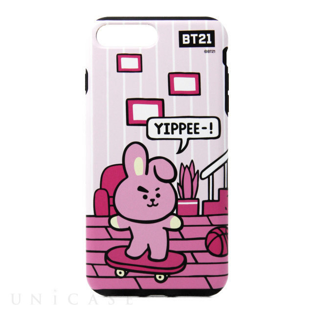 【iPhone8 Plus/7 Plus ケース】DUAL GUARD ROOMIES (COOKY)