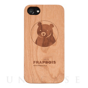 【iPhone8/7/6s/6 ケース】WOODケース (A Solid BEAR)