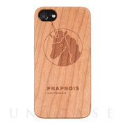 【iPhone8/7/6s/6 ケース】WOODケース (A Solid UNICORN)