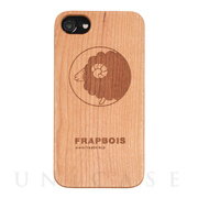 【iPhone8/7/6s/6 ケース】WOODケース (A Solid SHEEP)