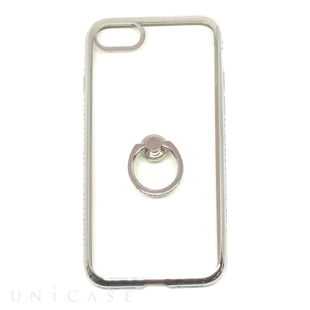 【iPhone8/7 ケース】Diamond Ring (シルバー)