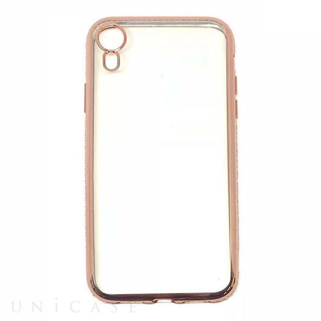 【iPhoneXR ケース】メタリックダイアモンド (ピンク) AMVAR   iPhone ...