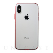 【iPhoneXS ケース】Air jacket Shockproof (Red)