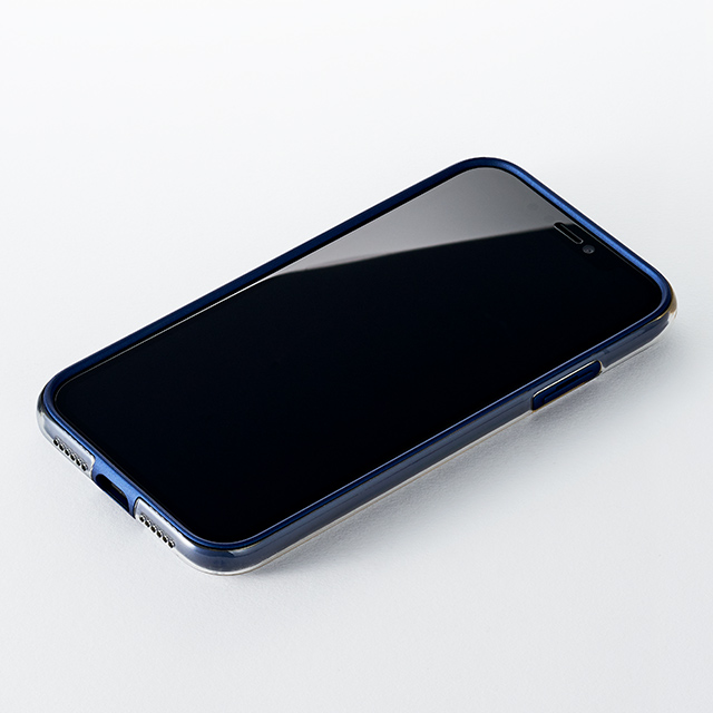 【iPhoneXR ケース】Air jacket Shockproof (Navy)サブ画像