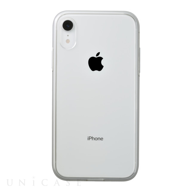 【iPhoneXR ケース】Air jacket Shockproof (White)