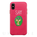 【iPhoneXS/Xケース】OOTD CASE for iPhoneXS/X (SHY mask man)