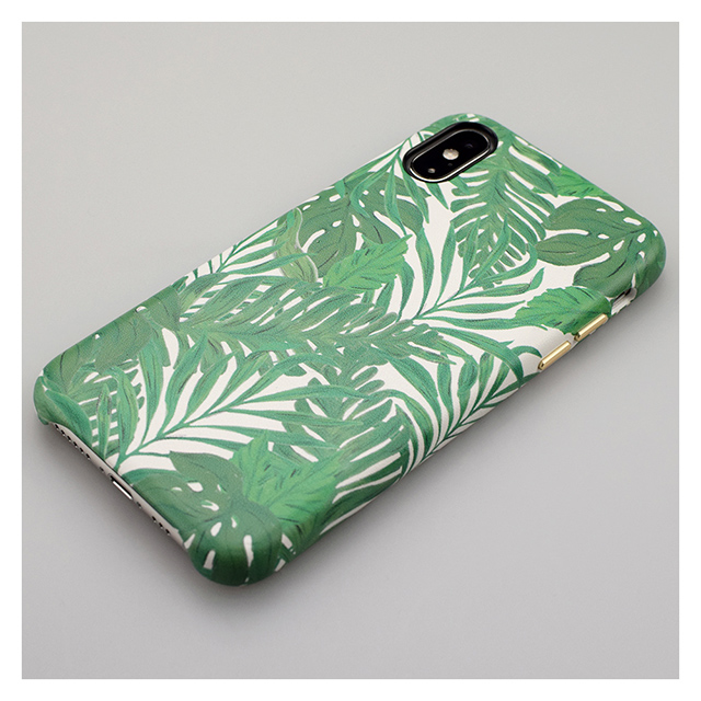 【iPhoneXS/Xケース】OOTD CASE for iPhoneXS/X (green leaf)サブ画像