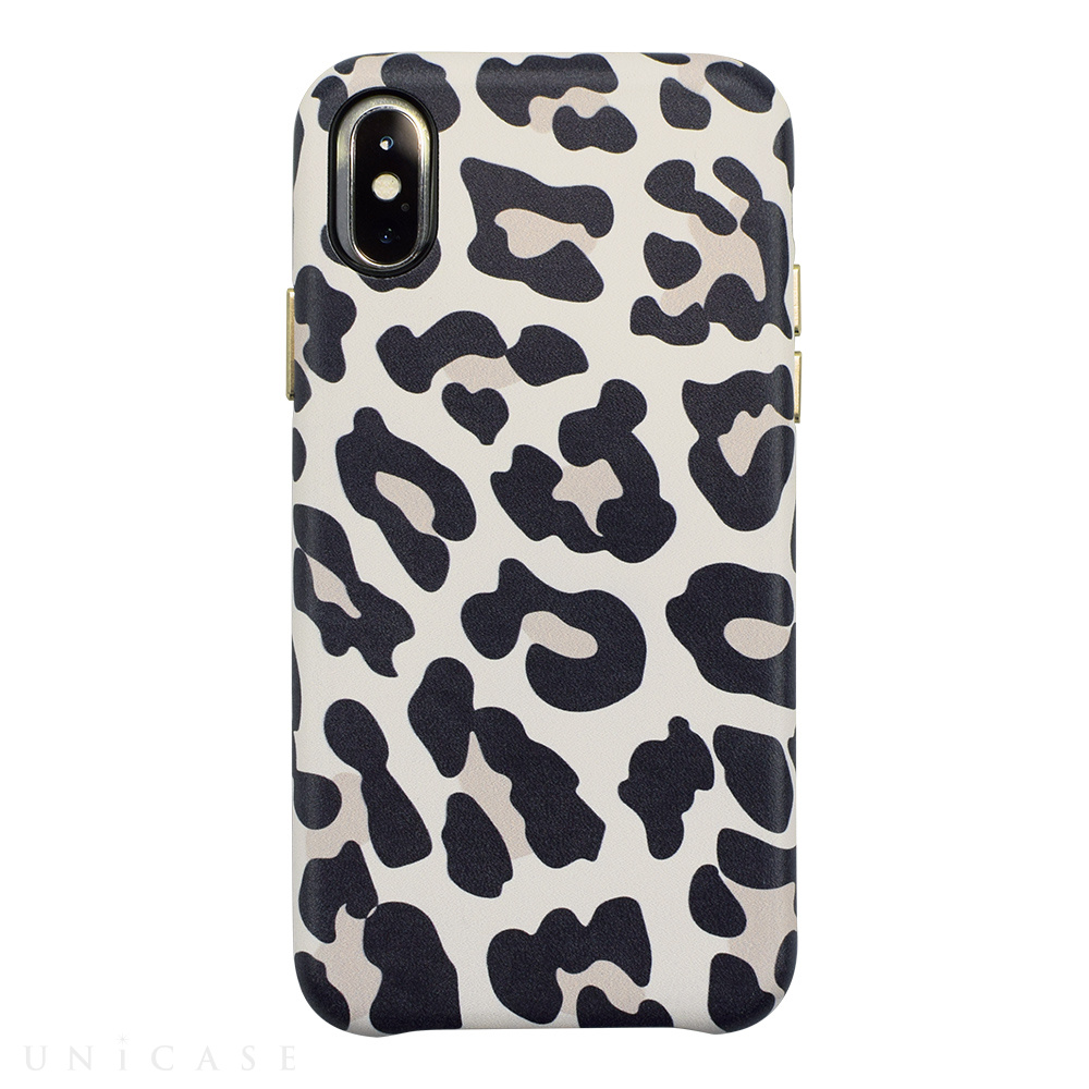 【iPhoneXS/Xケース】OOTD CASE for iPhoneXS/X (matte leo)