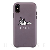 【iPhoneXS/Xケース】OOTD CASE for iPhoneXS/X (chill bulldog)