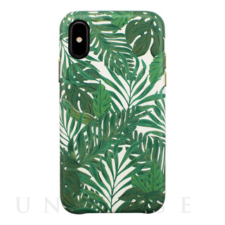 【iPhoneXS/Xケース】OOTD CASE for iPhoneXS/X (green leaf)