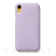 【iPhoneXR ケース】Haptic Case (Light Purple)