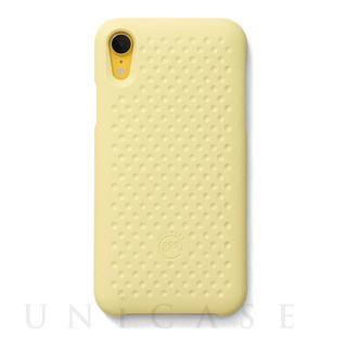 【iPhoneXR ケース】Haptic Case (Light Yellow)