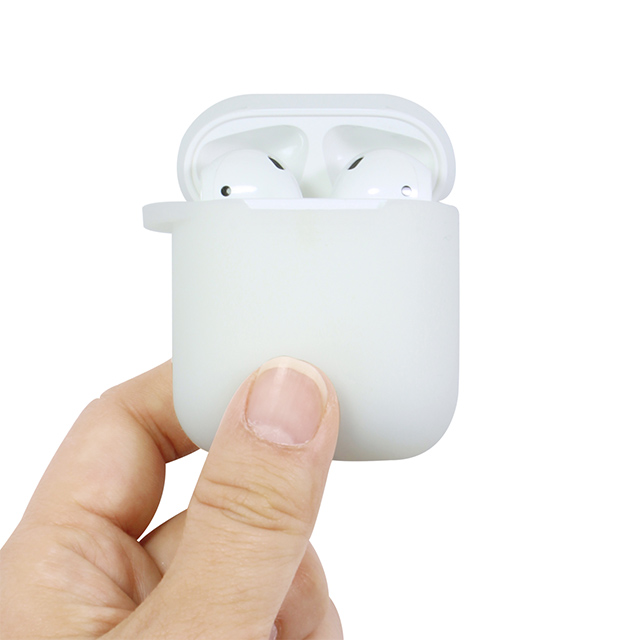 【AirPods ケース】AirPods専用 シリコンケース (クリア)サブ画像
