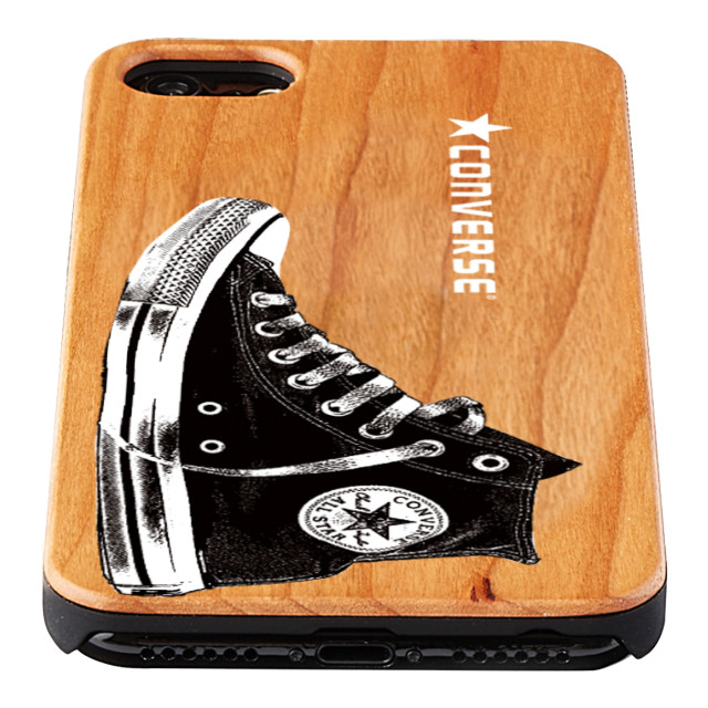 【iPhone8/7/6s/6 ケース】WOOD CASE (Shoes LOGO)サブ画像