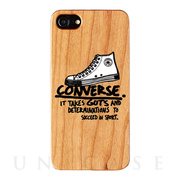 【iPhone8/7/6s/6 ケース】WOOD CASE (Handwriting Sneaker)