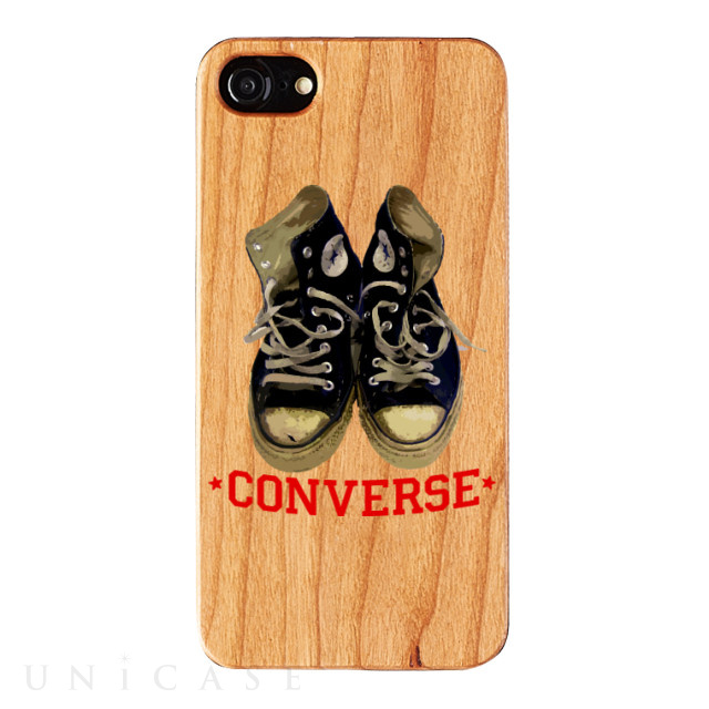 【iPhone8/7/6s/6 ケース】WOOD CASE (Old clothes shoes)