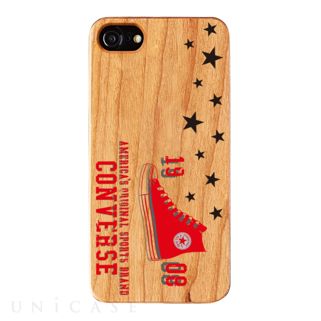 【iPhone8/7/6s/6 ケース】WOOD CASE (HERO)