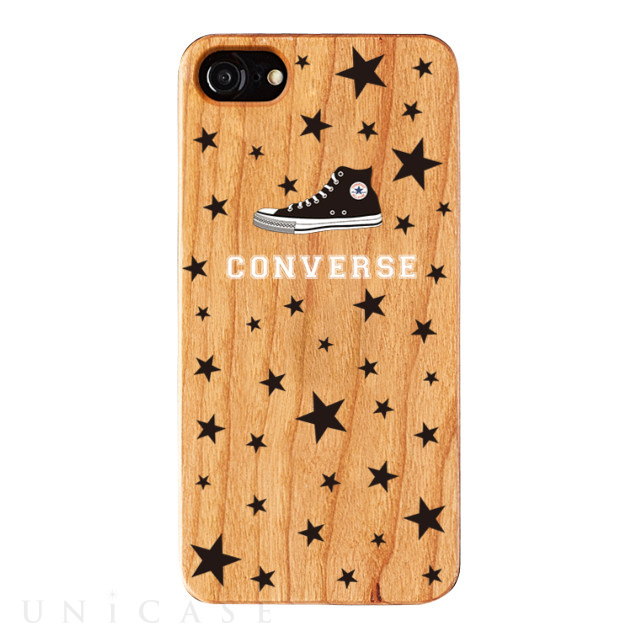 【iPhone8/7/6s/6 ケース】WOOD CASE (STARDUST)