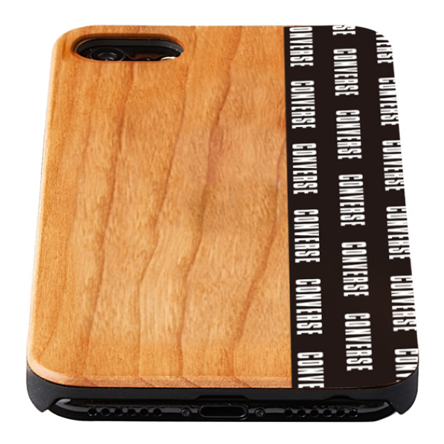 【iPhone8/7/6s/6 ケース】WOOD CASE (Pattern Black)サブ画像