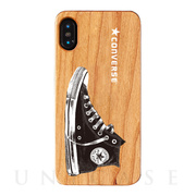 【iPhoneXS/X ケース】WOOD CASE (Shoes LOGO)
